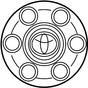 2006 TOYOTA Ornament sub-assy, wheel hub. Cover sub-assy