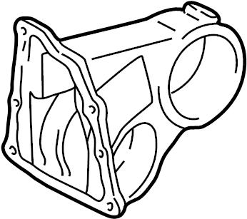 2004 TOYOTA AVALON Bracket, engine mounting, rear(for