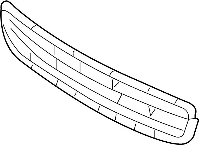 2005 Toyota 4runner Front Bumper Parts Diagram