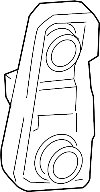 2005 TOYOTA SIENNA Socket & wire sub-assy, rear