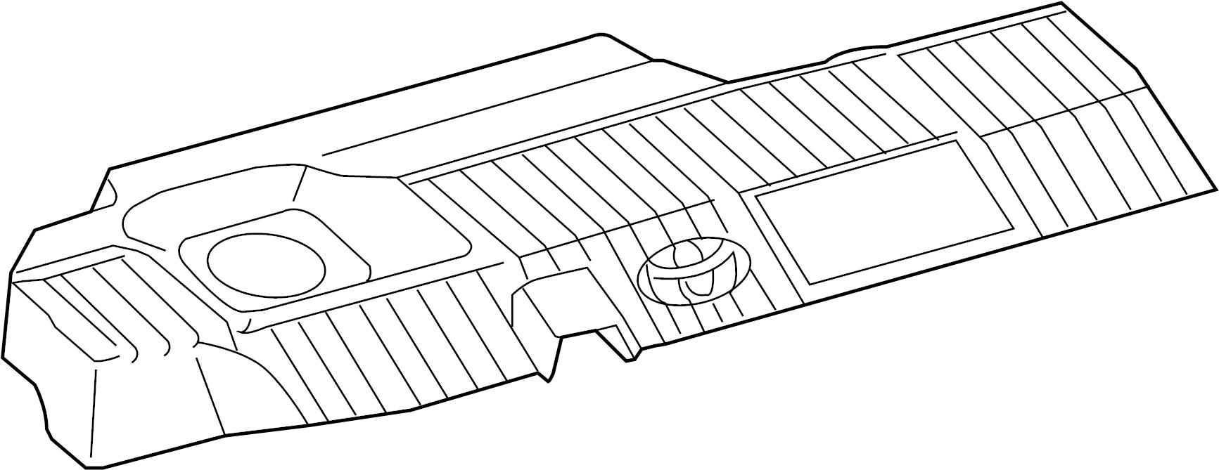 TOYOTA Prius V Four Cover, cylinder head, no.2