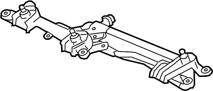 Toyota Parts Windshield Wiper