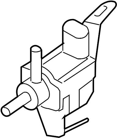 2011 Scion Valve, duty vacuum switching. Mark 90910-tc001