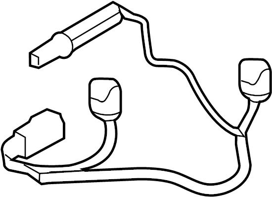 Scion FR-S Headlight Wiring Harness. Wire. HALOGEN