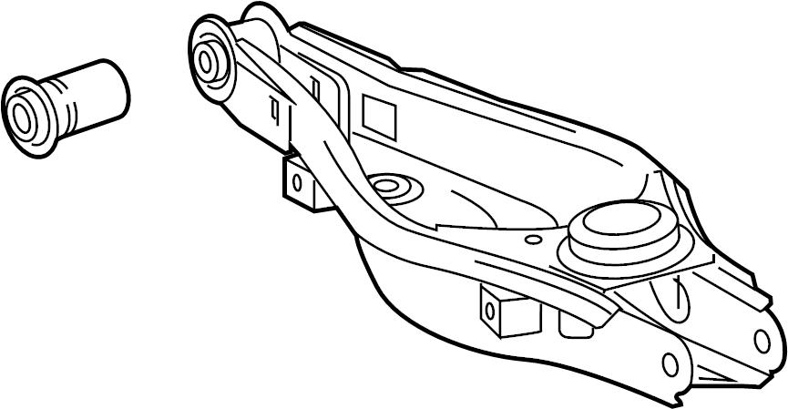 2015 TOYOTA RAV 4 Suspension Control Arm (Rear, Lower