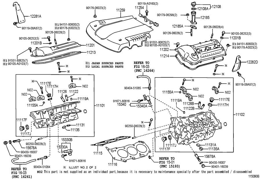 2005 TOYOTA TUNDRA Engine Oil Filler Tube. 2005-07. 4.0