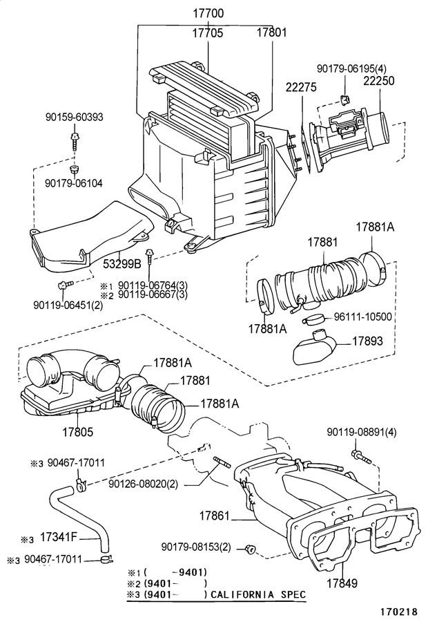 1986 TOYOTA 4RUNNER VAN, DELUXE 2400CC EFI, MANUAL, 5