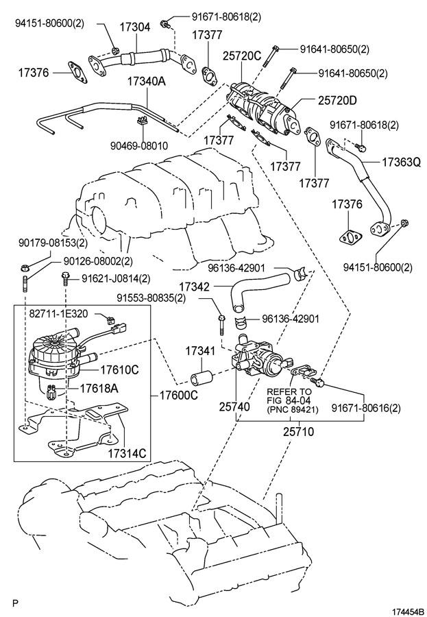 2007 TOYOTA Valve assy, air control. Valve sub-assy, elec
