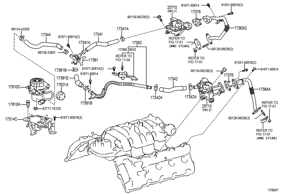 2013 TOYOTA TUNDRA Valve. Air. Injection. Secondary