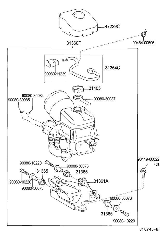 TOYOTA MR2 SPYDER Pump assy, sequential transmission