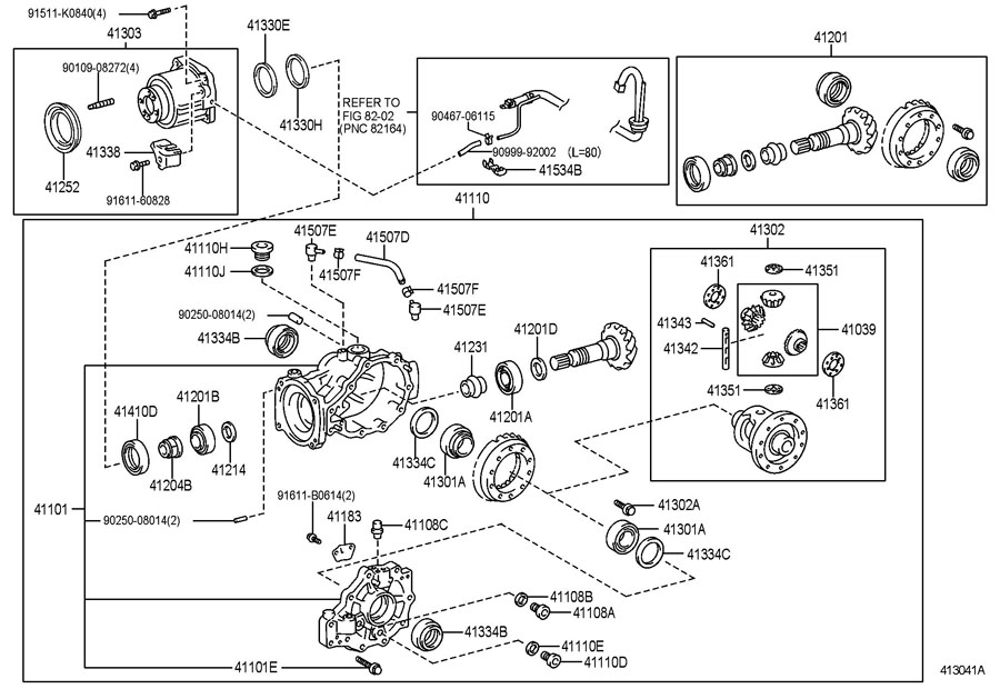 TOYOTA VENZA Coupling sub-assy, electro magnetic control