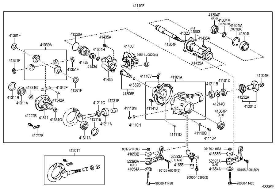 2008 Toyota Highlander Bumper Parts Diagram. Toyota. Auto