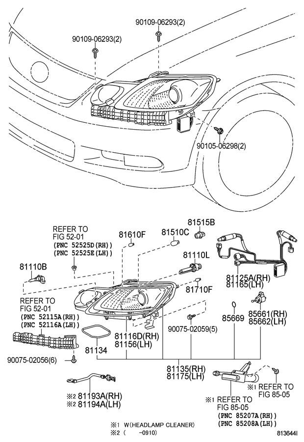 TOYOTA FJ CRUISER Socket plug, no.2; socket, front turn