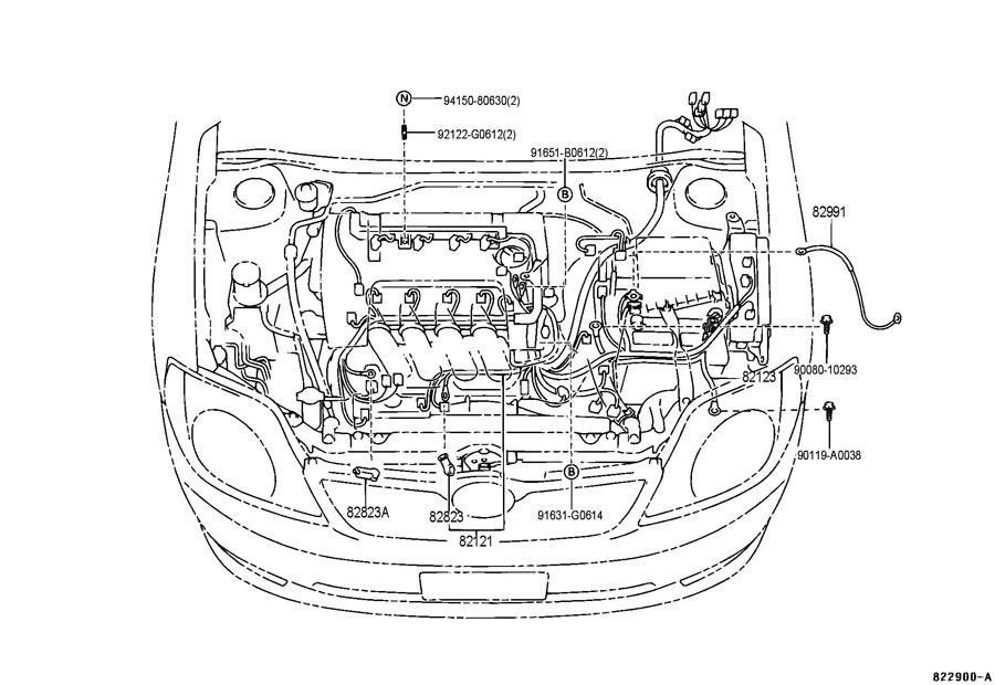 2006 Toyota Matrix Wiring Diagram FULL HD Version Wiring