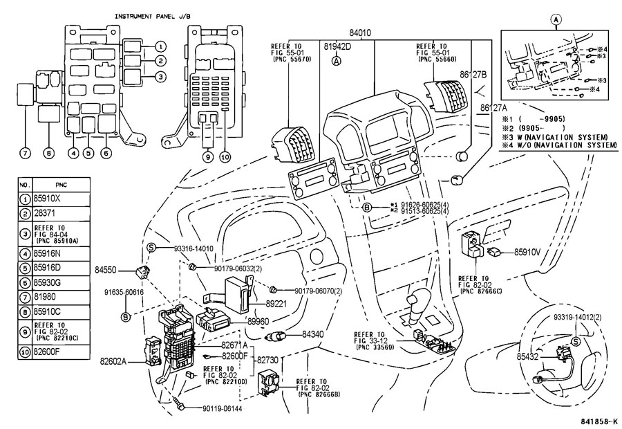 1998 TOYOTA CAMRY Relay assy, circuit opening (for efi