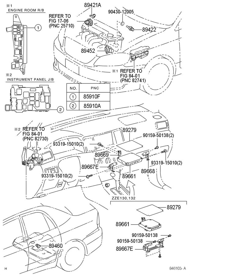 TOYOTA RAV 4 Sensor, throttle position (for e.f.i.). (l