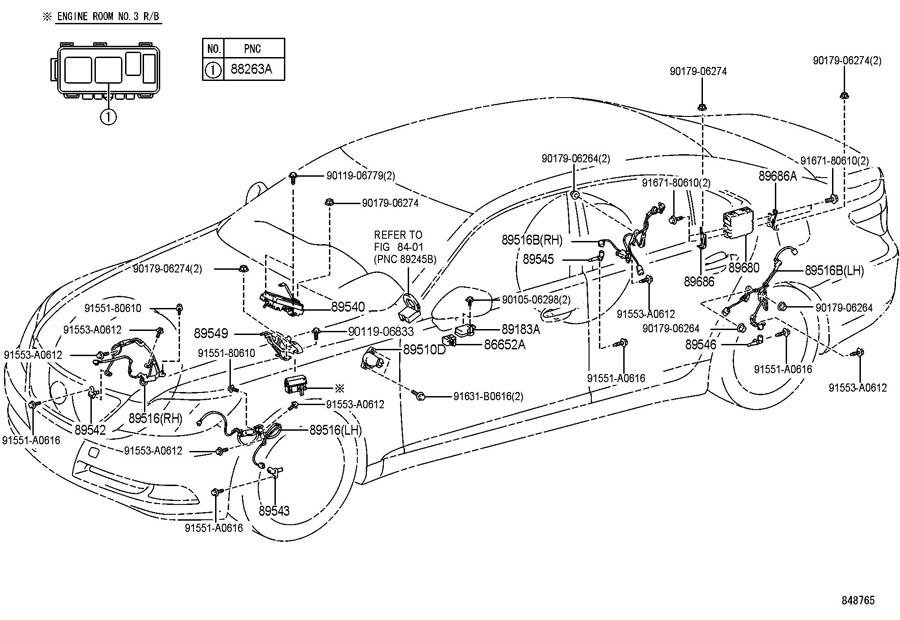 2007 TOYOTA PRIUS Hybrid Regenerative Brake Control Module