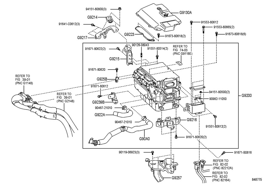 2010 TOYOTA PRIUS 1800CC 16-VALVE DOHC EFI, AUTOMATIC, ATM