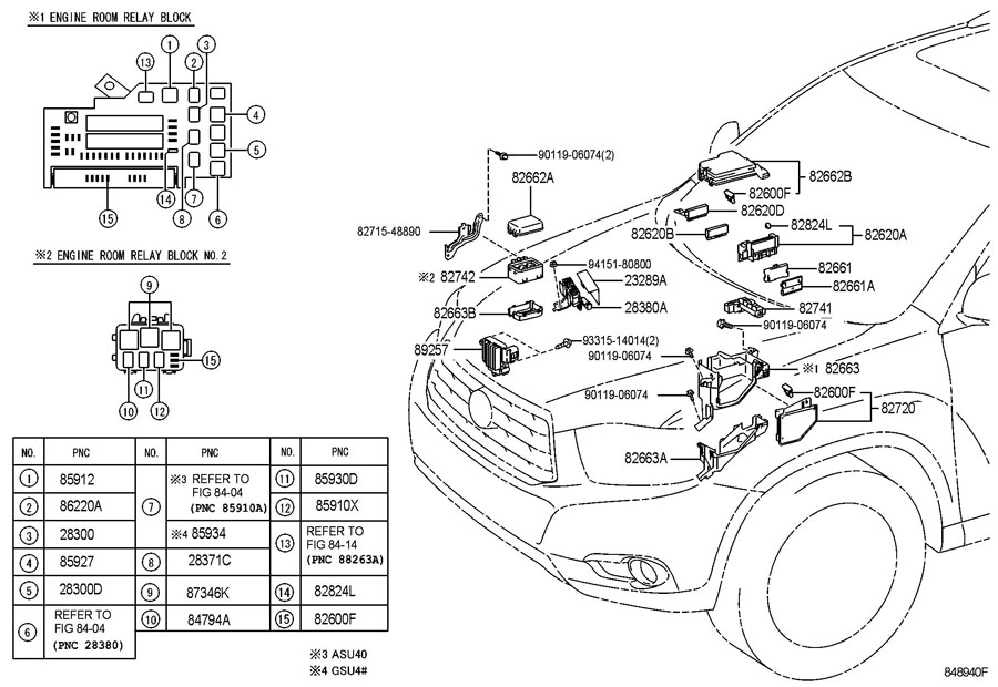 [DIAGRAM] 2001 Toyota Highlander Fuse Box Diagram FULL