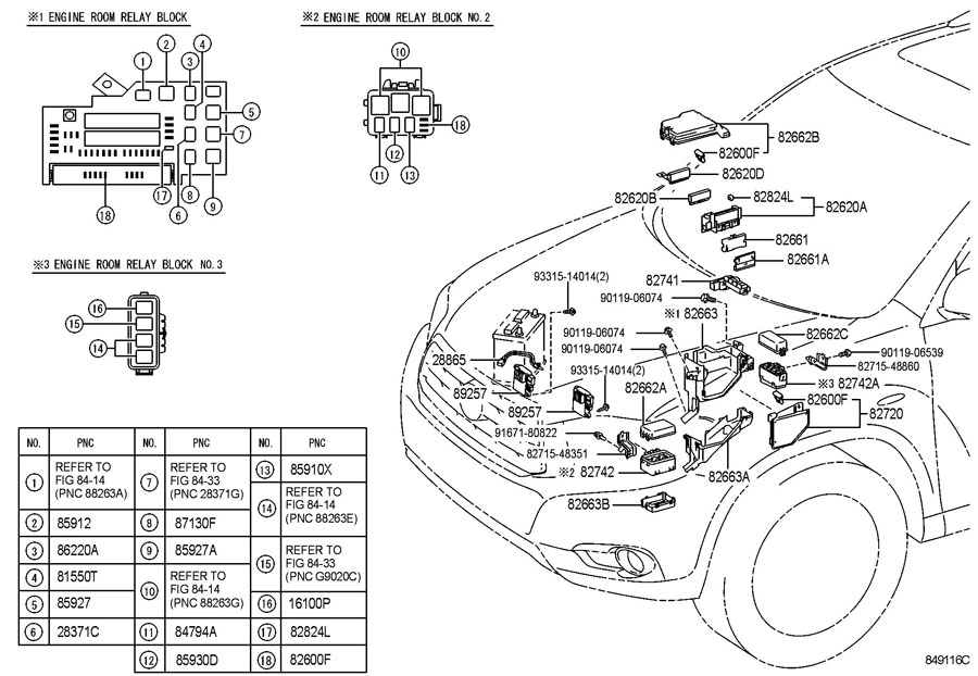 [DIAGRAM] 2002 Toyota Highlander Fuse Diagram FULL Version