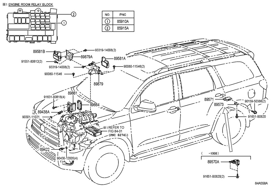 2005 TOYOTA TUNDRA Driver, air injection control