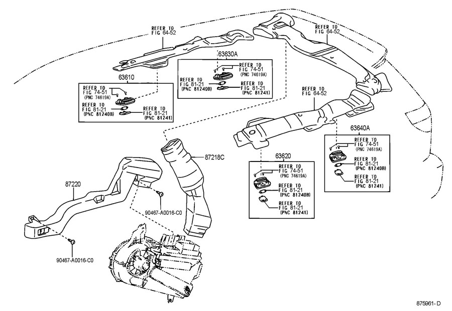 2001 Toyota Tacoma Parts Diagram. Toyota. Auto Wiring Diagram