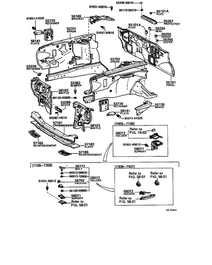 2003 TOYOTA MR2 SPYDER Nut (for power take-off shift rod