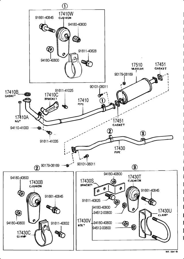 Wiring Diagram: 35 Toyota Land Cruiser Parts Diagram