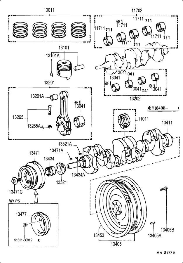 1988 TOYOTA 4RUNNER LOW DECK,PICKUP, SR-5,GLX 2400CC EFI