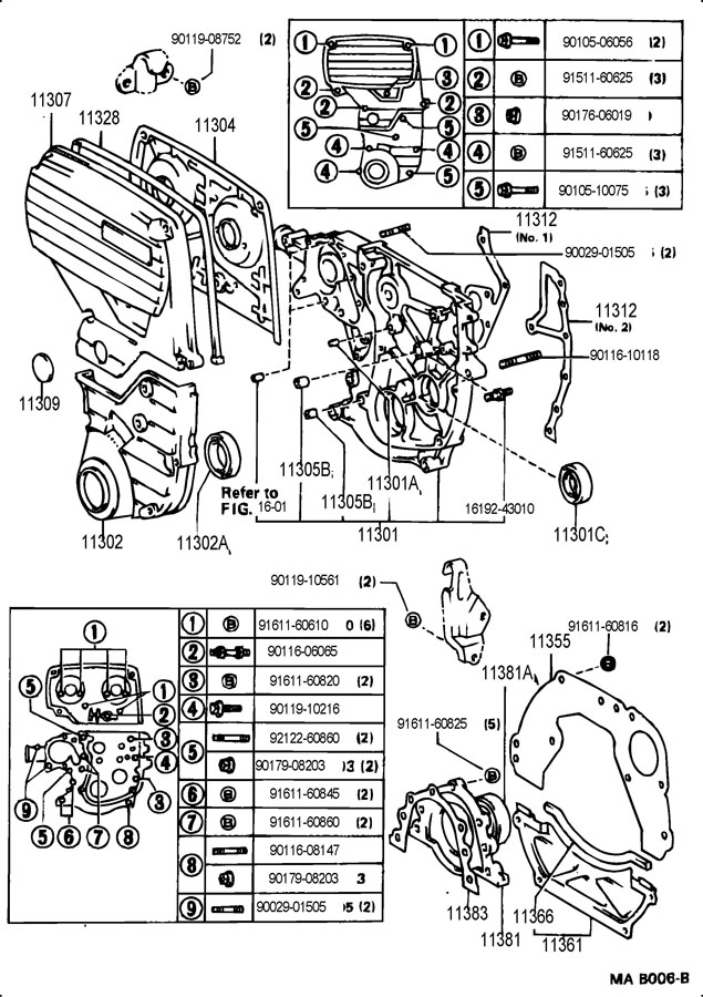 TOYOTA SUPRA Engine Timing Cover. !!DISCONTINUED