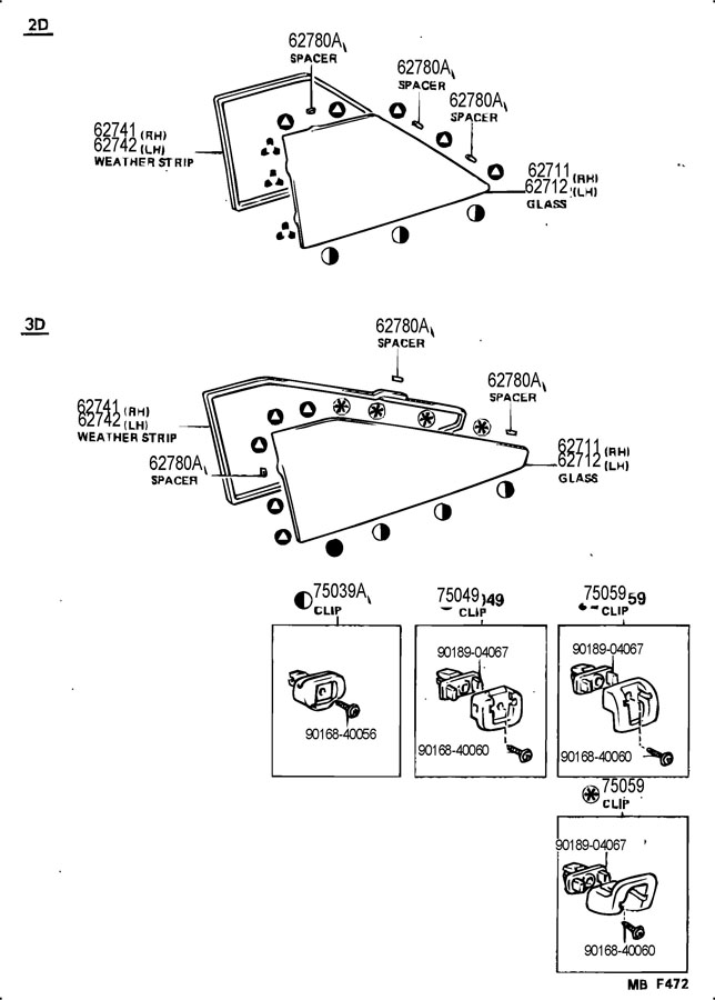 1986 TOYOTA COROLLA 3-DOOR, GTS 1600CC DOHC EFI, MANUAL, 5
