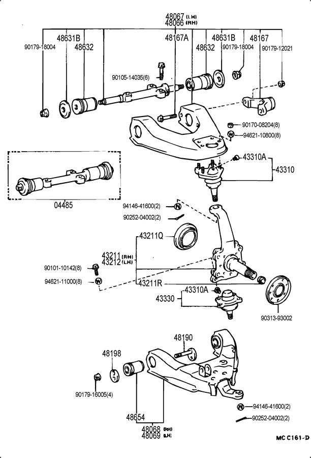 [DIAGRAM] Wiring Diagram For 1994 Toyota 4runner FULL