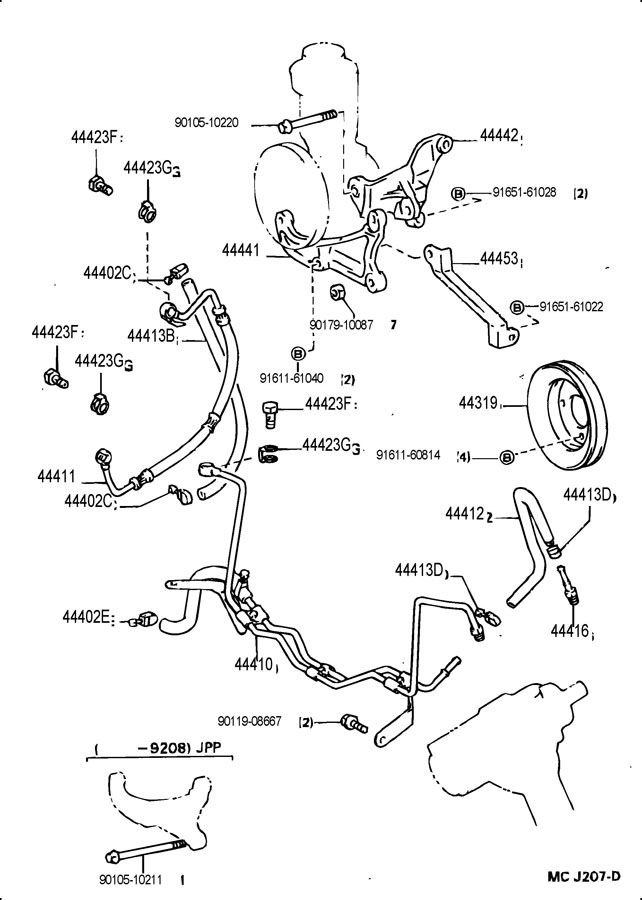 CHARGING SYSTEM WIRING DIAGRAM 1984 TOYOTA FORERUNNER