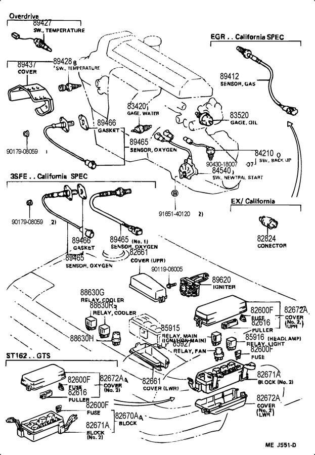 1989 Toyota Celica Fuse Block. Toyota. Auto Wiring Diagram