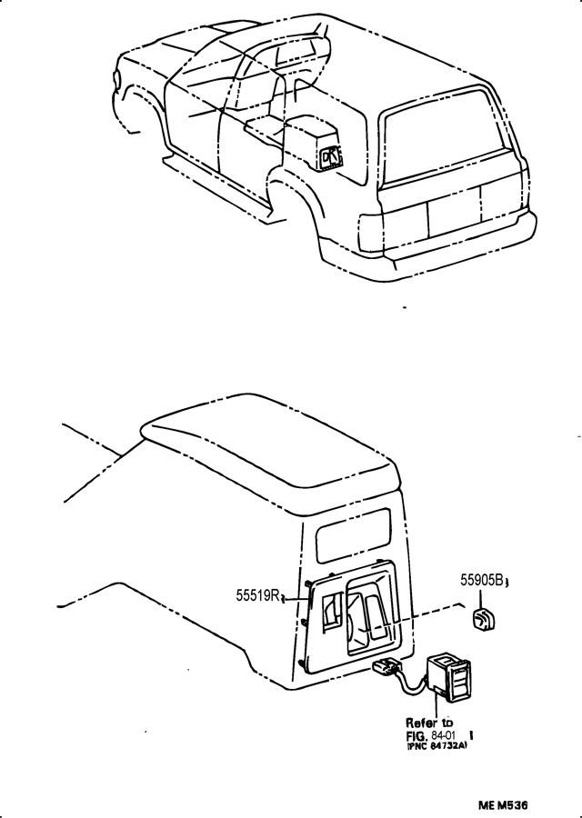1992 TOYOTA 4RUNNER TRUCK, DELUXE 3000CC EFI, MANUAL, 5