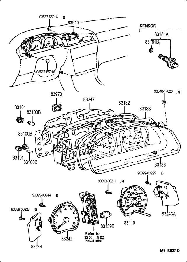 1993 TOYOTA Vehicle Speed Sensor O-Ring. 2003-07. 3.0