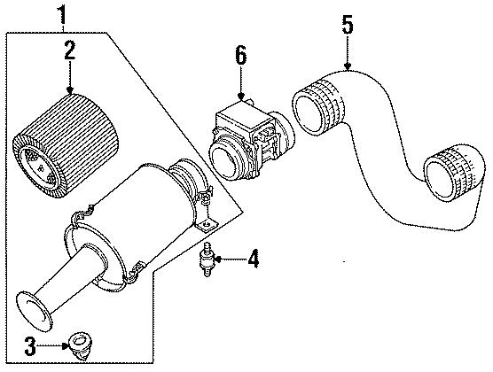 1995 Land Rover Defender 90 Air Filter. 1987-94. Defender