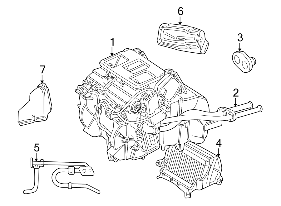 1999 Land Rover Discovery Drain. Valve. Front, Expansion