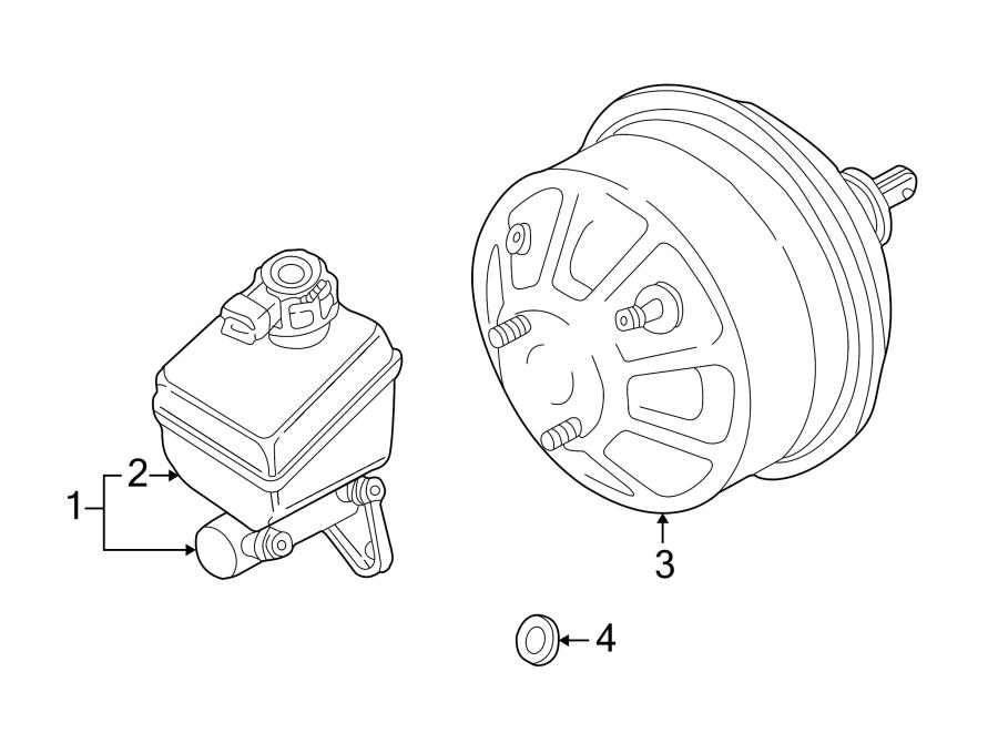 2002 Land Rover Discovery Kit. Master. Cylinder. Brake