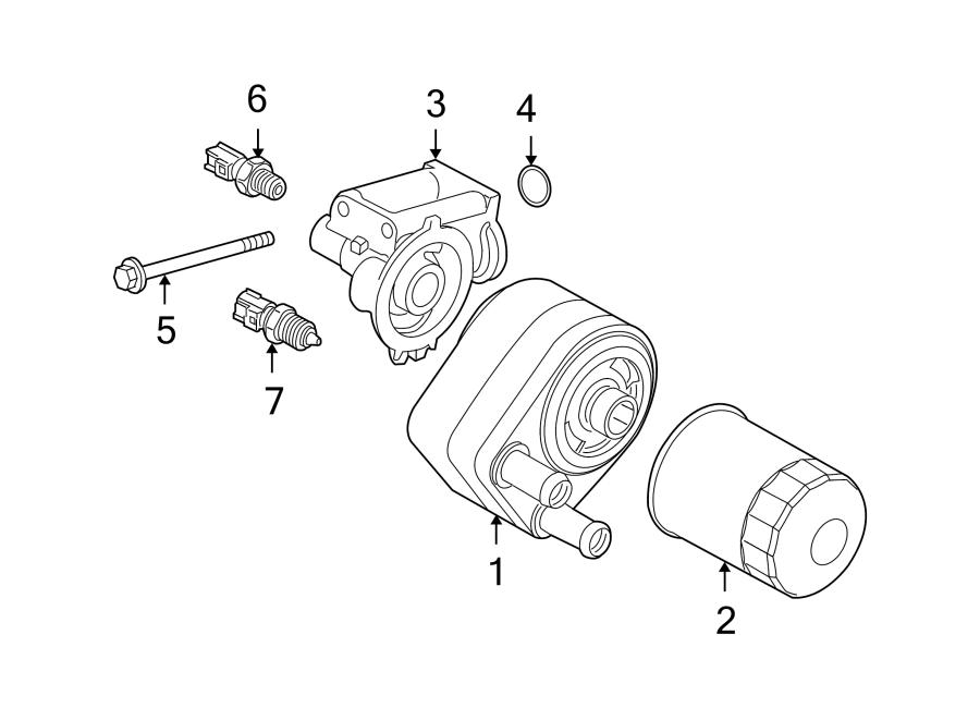 2007 Land Rover Range Rover Sport Engine Oil Filter