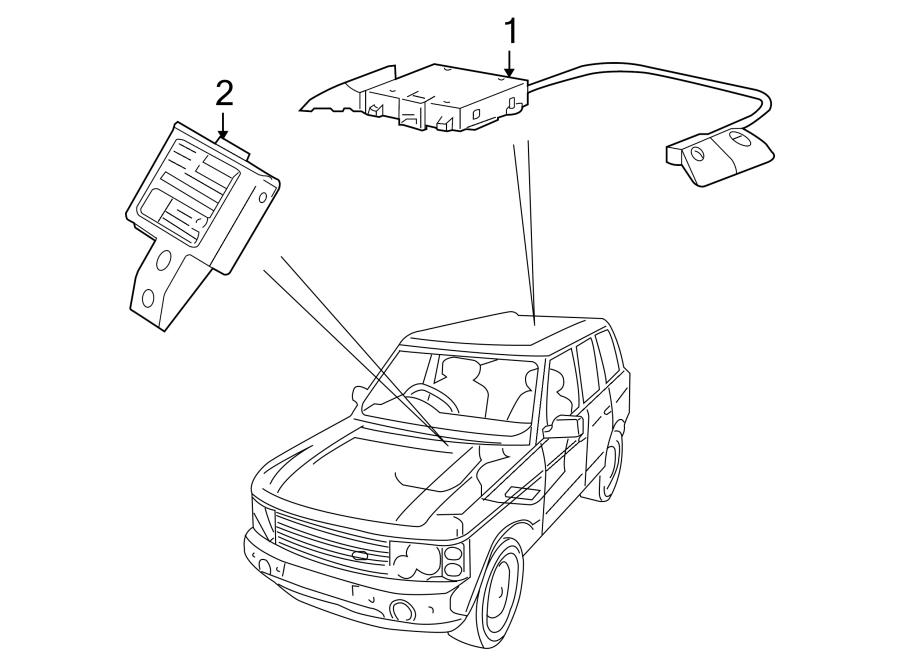 2014 Land Rover LR2 Transceiver. Immobilizer. Ignition