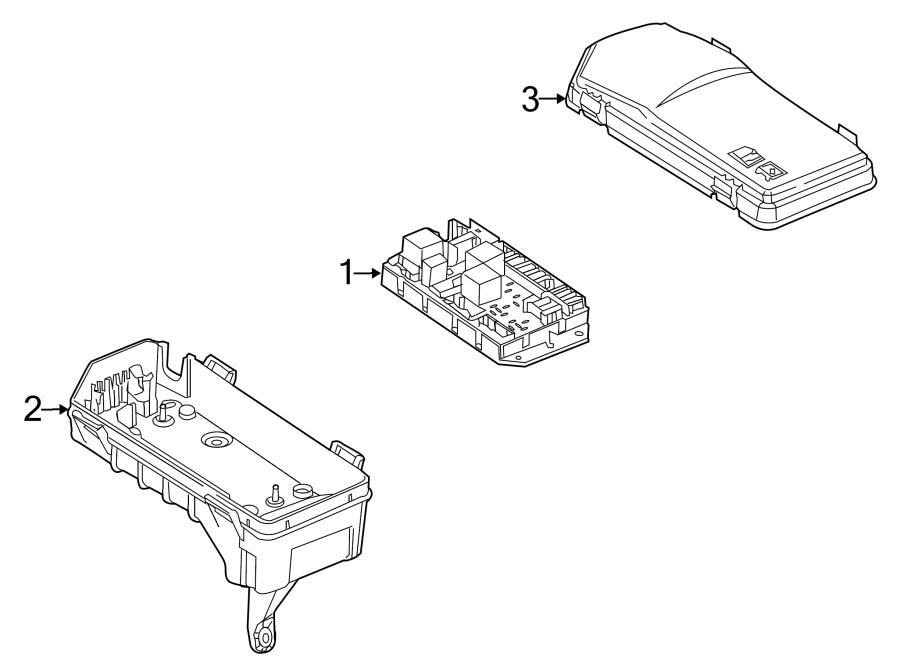 range rover l322 engine bay fuse box