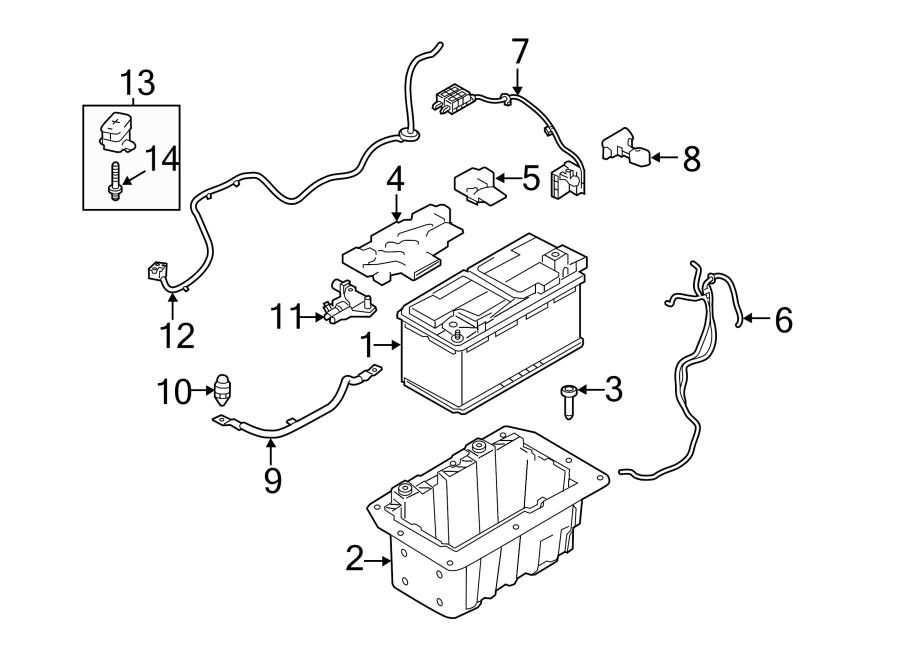 2015 Land Rover Range Rover Battery Vent Tube. TUBE