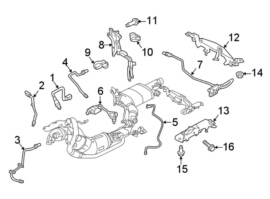 2019 Land Rover Range Rover Diesel Exhaust Fluid (DEF