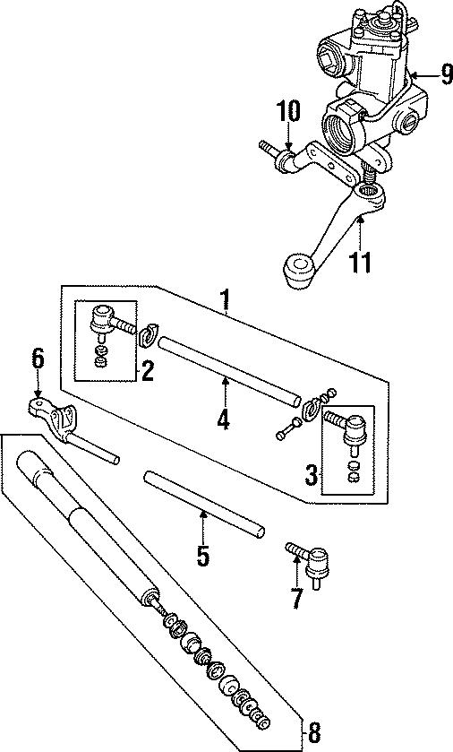 1997 Land Rover Defender 90 Steering Pitman Arm