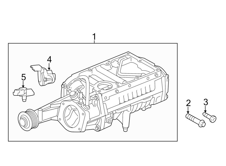 2015 Land Rover LR4 Manifold Absolute Pressure Sensor