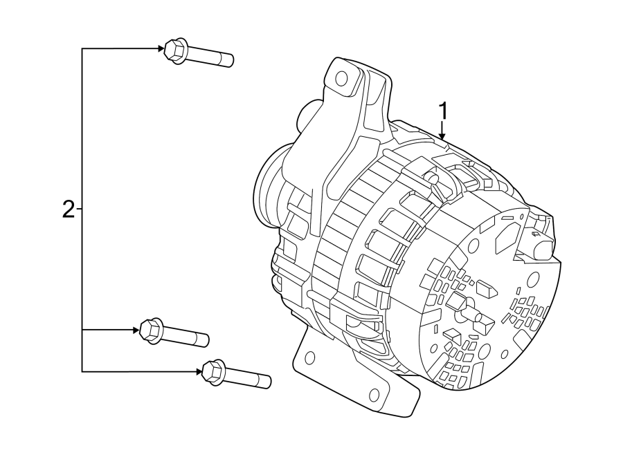 2014 Land Rover LR2 Bolt. Compressor. Alternator