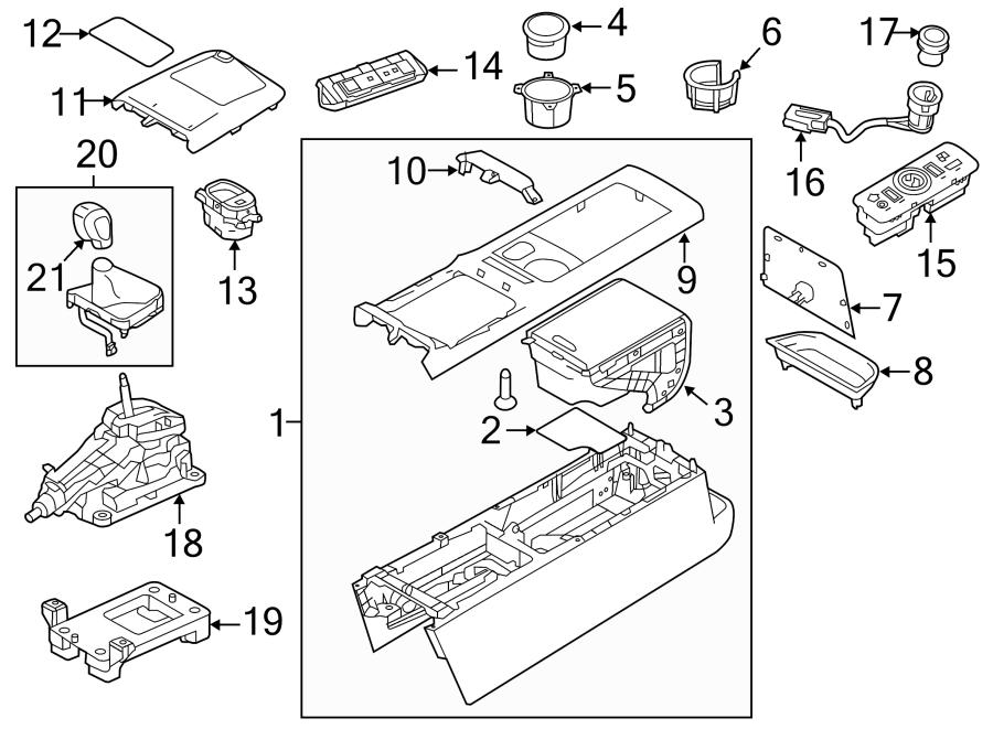 2014 Land Rover LR2 Cigarette Lighter Element. SOCKET