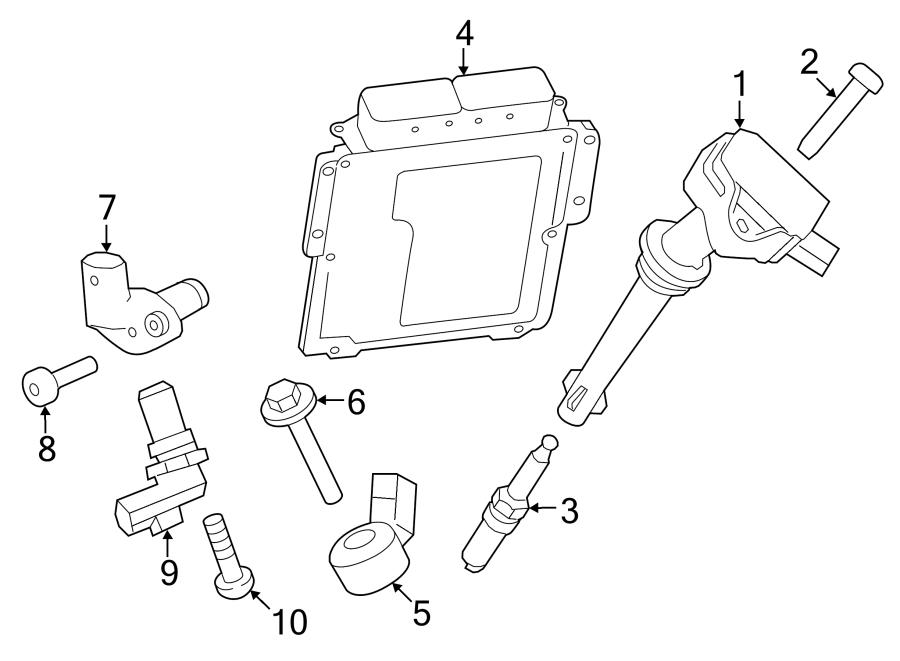 2016 Land Rover Range Rover Sport Engine Camshaft Position