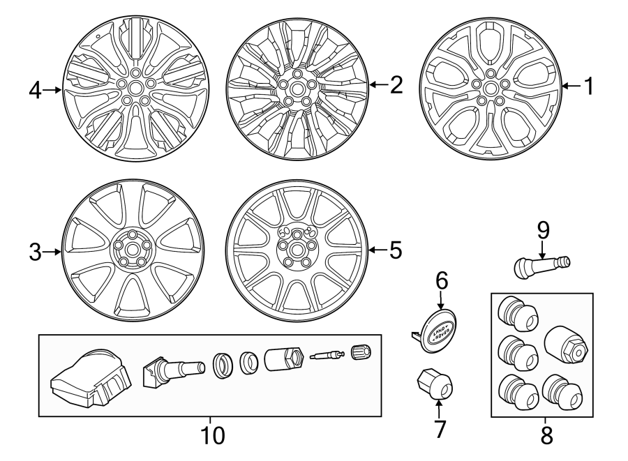 2019 Land Rover Range Rover Sport Wheel. May, Notice